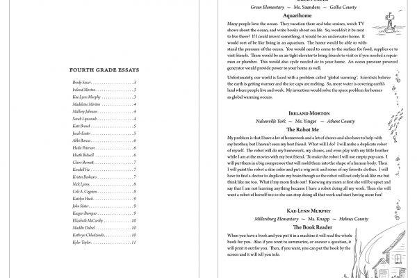 FAO002 Writing Booklet 4GradeEssays