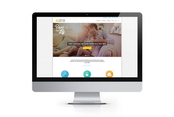 Third Sun Solar Website Design