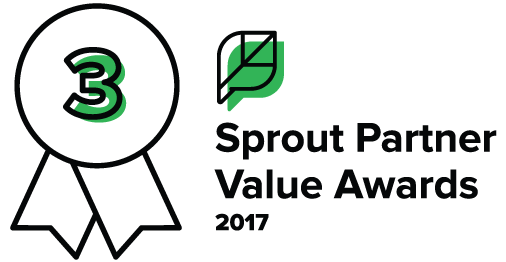 RAVE Wins 3rd Place in the Sprout Social Partner Value Awards