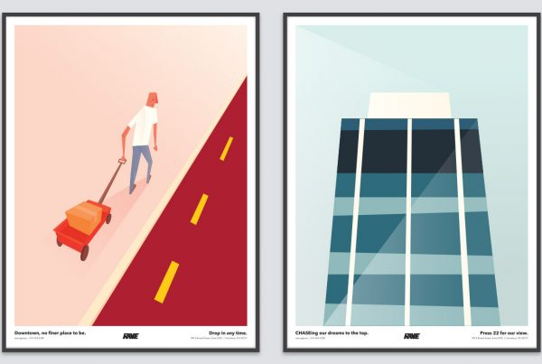 Big Move poster series
