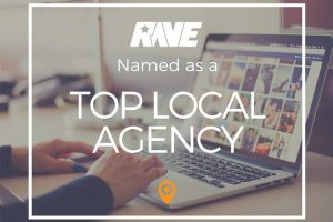 RAVE Named Top Local Agency 2019 by UpCity
