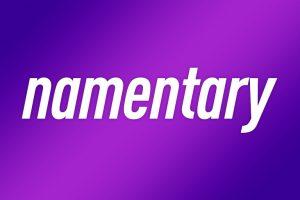 Namentary logo