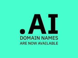 .AI domain names now available