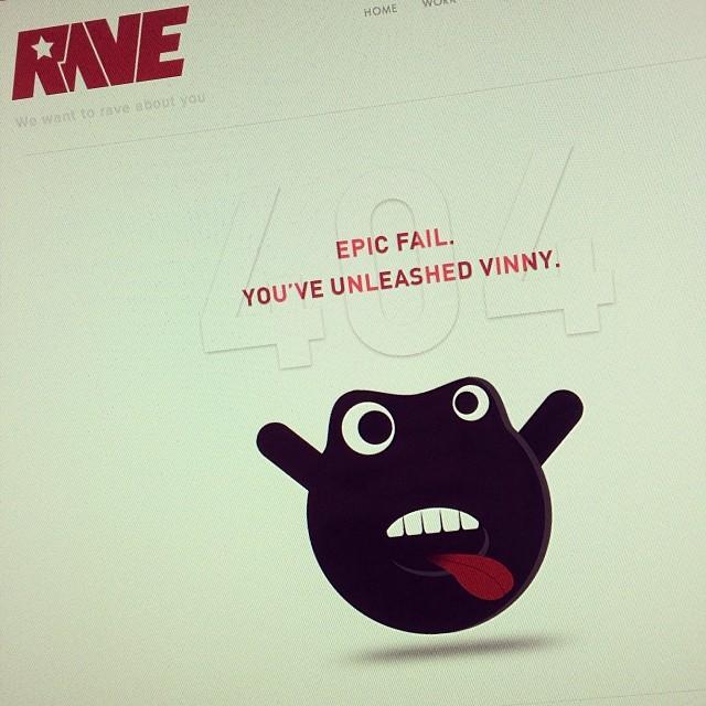 New 404 Error Page