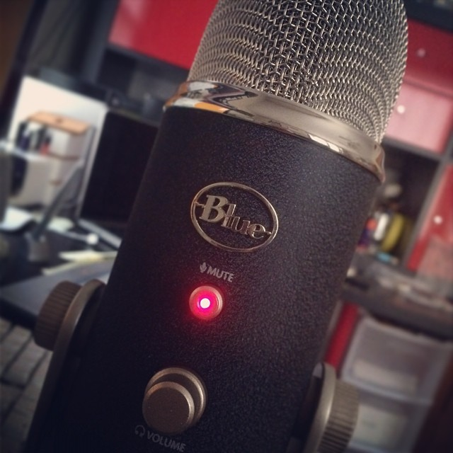 Our New Blue Mic