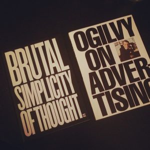 Ogilvy and Saatchi on the Reading List