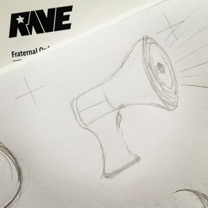 Animated Ad Concept Sketch