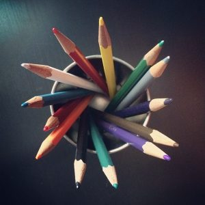 Future Planning with Colored Pencils