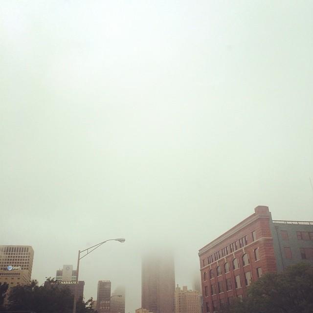 Foggy Downtown Views